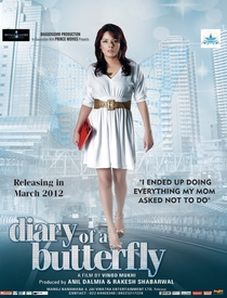 Diary Of A Butterfly - Poster / Capa / Cartaz - Oficial 1