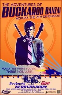 As Aventuras de Buckaroo Banzai - Poster / Capa / Cartaz - Oficial 9
