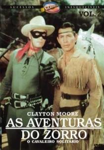 As Aventuras do Zorro - O Cavaleiro Solitário - Poster / Capa / Cartaz - Oficial 1
