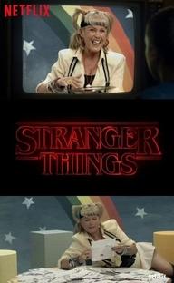 Stranger Things - Xuxa e o Baixinho que Sumiu - Poster / Capa / Cartaz - Oficial 1