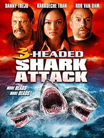O Ataque do Tubarão de 3 Cabeças - Poster / Capa / Cartaz - Oficial 1