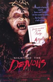A Noite dos Demônios - Poster / Capa / Cartaz - Oficial 1