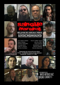Sangue Marginal - Relatos de Cinema e Vídeo Underground - Poster / Capa / Cartaz - Oficial 1