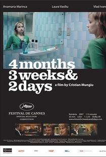 4 Meses, 3 Semanas e 2 Dias - Poster / Capa / Cartaz - Oficial 15