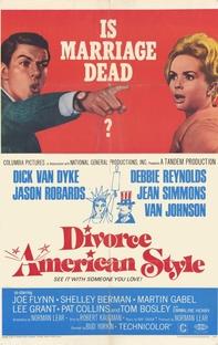 Divórcio à Americana - Poster / Capa / Cartaz - Oficial 1