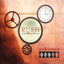 Rush - Time Machine: Live in Cleveland - Poster / Capa / Cartaz - Oficial 1