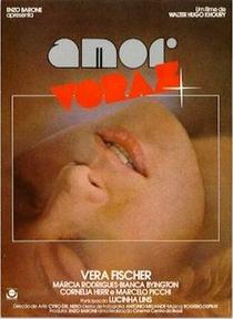 Amor Voraz - Poster / Capa / Cartaz - Oficial 1