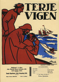 Terje Vigen - Poster / Capa / Cartaz - Oficial 1