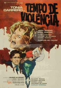 Tempo de Violência - Poster / Capa / Cartaz - Oficial 1