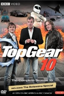 Top Gear (10ª Temporada) - Poster / Capa / Cartaz - Oficial 1