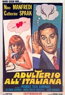 Adultério à Italiana  - Poster / Capa / Cartaz - Oficial 1