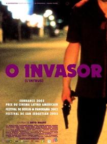O Invasor - Poster / Capa / Cartaz - Oficial 2