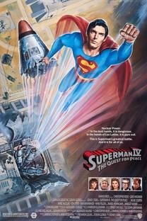 Superman IV - Em Busca da Paz - Poster / Capa / Cartaz - Oficial 4