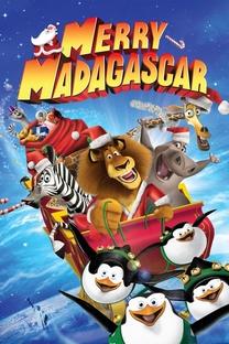 Feliz Natal Madagascar - Poster / Capa / Cartaz - Oficial 2