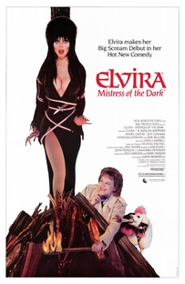 Elvira - A Rainha das Trevas - Poster / Capa / Cartaz - Oficial 2