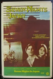 Sete Noites no Japão - Poster / Capa / Cartaz - Oficial 1