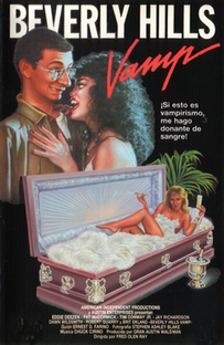 A Vampira de Beverly Hills - Poster / Capa / Cartaz - Oficial 1