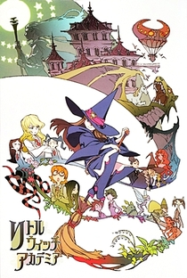 Little Witch Academia - Poster / Capa / Cartaz - Oficial 4