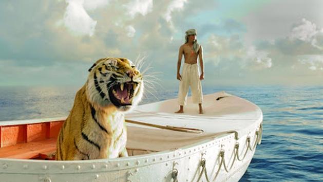 Vídeo de criação do tigre de As Aventuras de Pi
