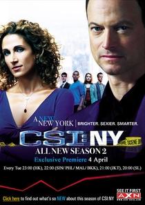 CSI: Nova York (2ª Temporada) - Poster / Capa / Cartaz - Oficial 2
