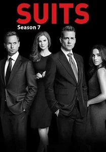 Suits (7ª Temporada) - Poster / Capa / Cartaz - Oficial 1
