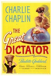 O Grande Ditador - Poster / Capa / Cartaz - Oficial 1