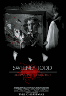 Sweeney Todd: O Barbeiro Demoníaco da Rua Fleet - Poster / Capa / Cartaz - Oficial 5