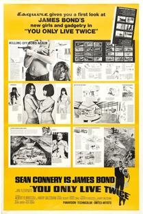 Com 007 Só Se Vive Duas Vezes - Poster / Capa / Cartaz - Oficial 7