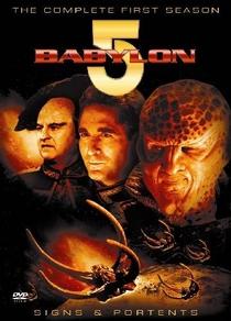 Babylon 5 (1ª Temporada) - Poster / Capa / Cartaz - Oficial 1