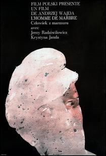 O Homem de Mármore - Poster / Capa / Cartaz - Oficial 2