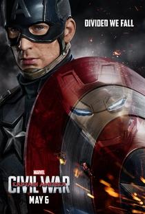 Capitão América: Guerra Civil - Poster / Capa / Cartaz - Oficial 3
