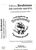 Fábrica Brukman Bajo Control Obrero - Poster / Capa / Cartaz - Oficial 1