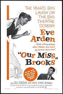Our Miss Brooks - Poster / Capa / Cartaz - Oficial 1