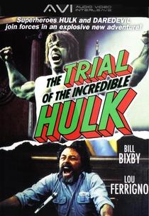 O Julgamento do Incrível Hulk - Poster / Capa / Cartaz - Oficial 3