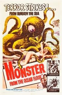 O Monstro do Fundo do Mar - Poster / Capa / Cartaz - Oficial 1
