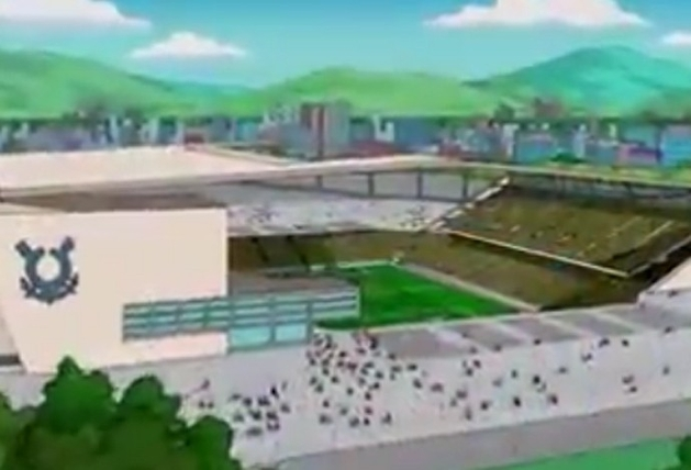 Simpsons na Arena Corinthians | Blog Blog da Copa