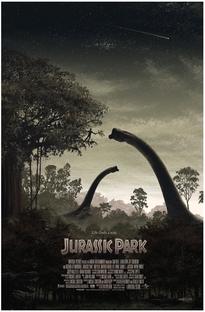 Jurassic Park - O Parque dos Dinossauros - Poster / Capa / Cartaz - Oficial 8