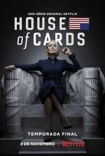House of Cards (6ª Temporada) - Poster / Capa / Cartaz - Oficial 1