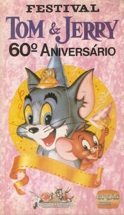 Tom & Jerry - 50 Anos: Festival de Sucessos - Poster / Capa / Cartaz - Oficial 2