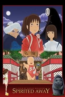 A Viagem de Chihiro - Poster / Capa / Cartaz - Oficial 24