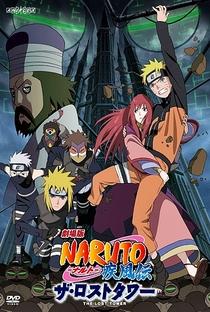 Naruto Shippuden 4: A Torre Perdida - Poster / Capa / Cartaz - Oficial 1