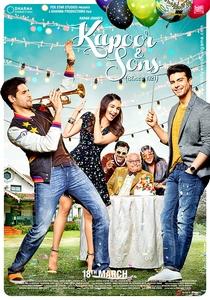 Kapoor & Sons - Poster / Capa / Cartaz - Oficial 2