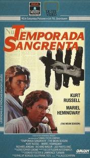 Temporada Sangrenta - Poster / Capa / Cartaz - Oficial 2