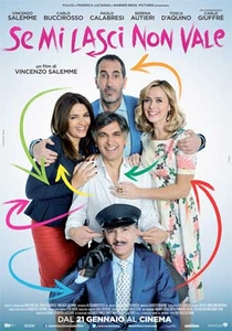 Se Mi Lasci Non Vale - Poster / Capa / Cartaz - Oficial 1
