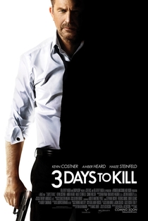 3 Dias Para Matar - Poster / Capa / Cartaz - Oficial 1