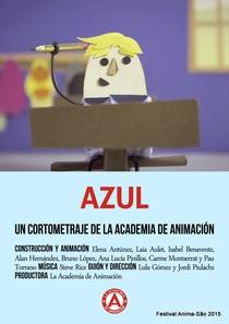 Azul - Poster / Capa / Cartaz - Oficial 1