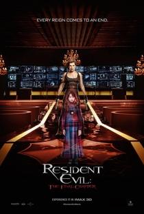 Resident Evil 6 - O Capítulo Final - Poster / Capa / Cartaz - Oficial 4