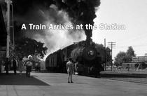 Um trem chega à estação - Poster / Capa / Cartaz - Oficial 1