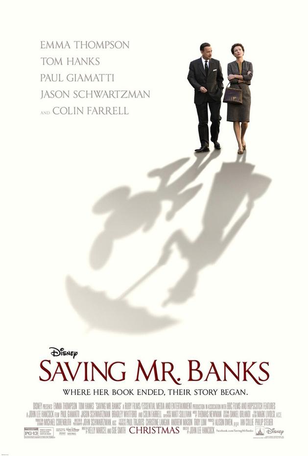 "Confira o novo pôster de ""Saving Mr. Banks"""