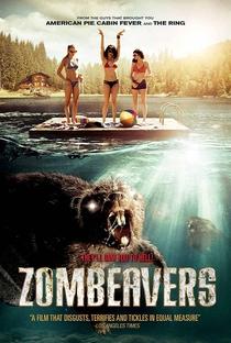 Castores Zumbis - Poster / Capa / Cartaz - Oficial 3